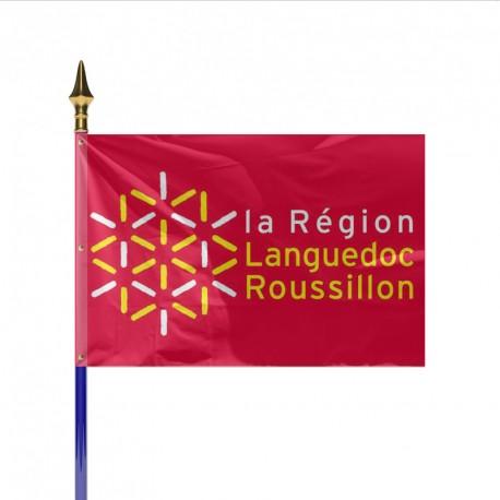 Drapeau Région LANGUEDOC ROUSSILLON