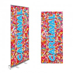 Roll-up CARNAVAL