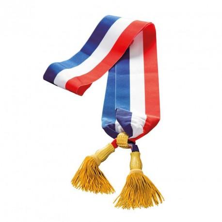 Echarpe tricolore pour le maire (Or)