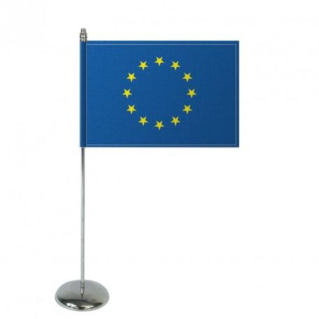 Drapeau de table Europrestige EUROPE en satin