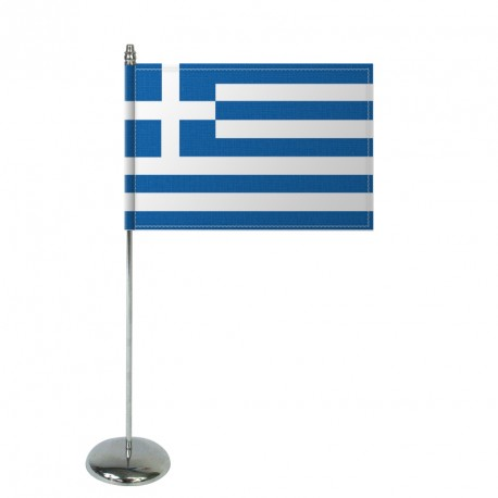 Drapeau de table Europrestige GRECE en satin