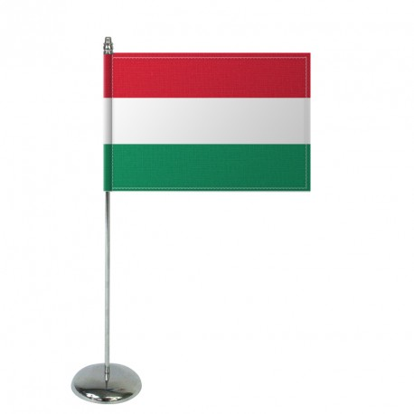Drapeau de table Europrestige HONGRIE en satin