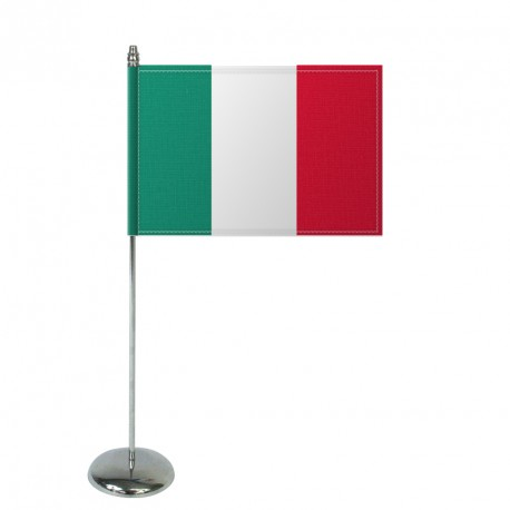 Drapeau de table Europrestige ITALIE en satin