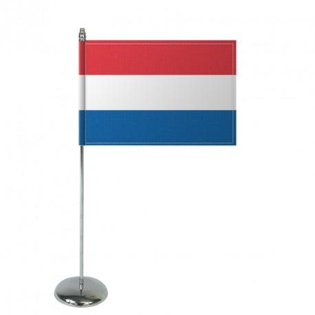 Drapeau de table Europrestige PAYS BAS en satin