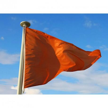 Flamme baignade Orange : Baignade dangereuse mais surveillée
