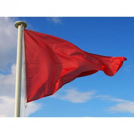 Flamme baignade Rouge : Baignade interdite