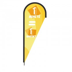 Voile beach flag 1 ACHETE 1 GRATUIT