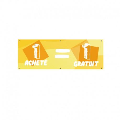 Bâche PVC 1 ACHETE 1 GRATUIT