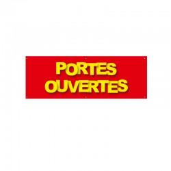 Bâche PVC PORTES OUVERTES