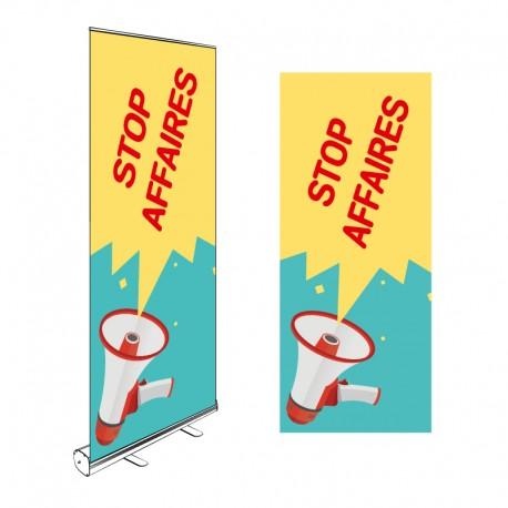 Kakémono Roll-up STOP AFFAIRES 200x85cm