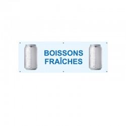 Bâche PVC BOISSONS FRAICHES