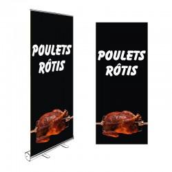 Roll-up POULETS RÔTIS