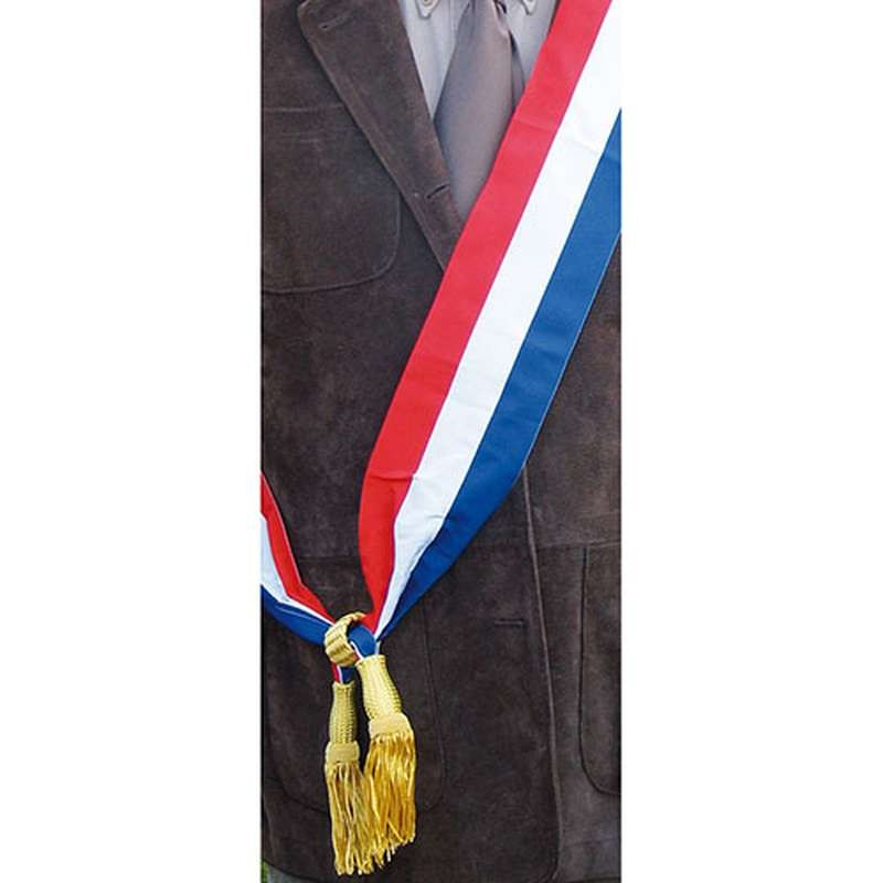 ... Echarpe tricolore pour le maire (Or) ... 4083b1c267c