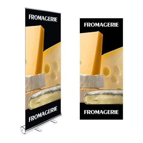 Kakémono Roll-up FROMAGERIE 200x85cm