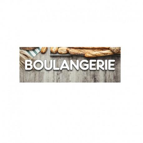 Bâche PVC BOULANGERIE