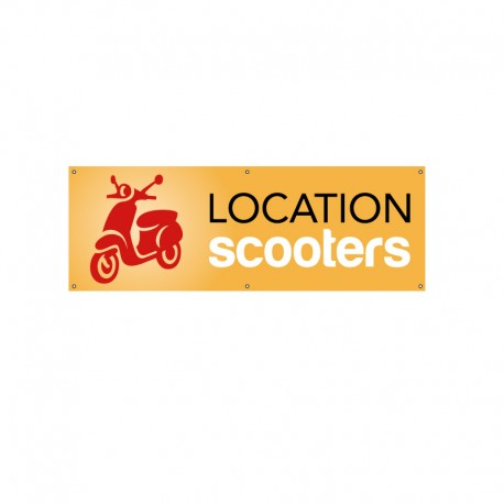 Bâche PVC LOCATION SCOOTERS