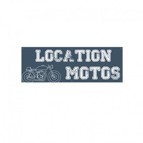 Bâche PVC LOCATION MOTOS