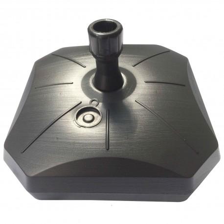 Pied en plastique gris 50L à remplir pour gammes BEACH, ATLAS et LEAF