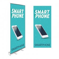 Kakémono Roll-up SMARTPHONE 200x85cm