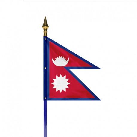 Drapeau pays NEPAL