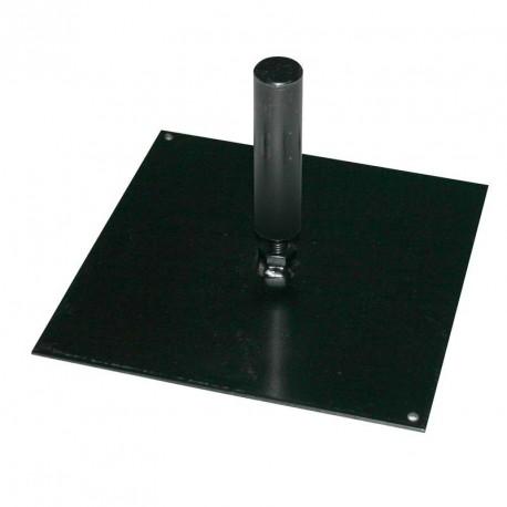 Platine carrée 20x20cm pour mât FunLine ®
