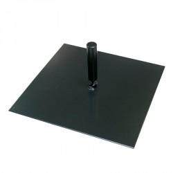 Platine carrée 30x30cm pour mât FunLine ®