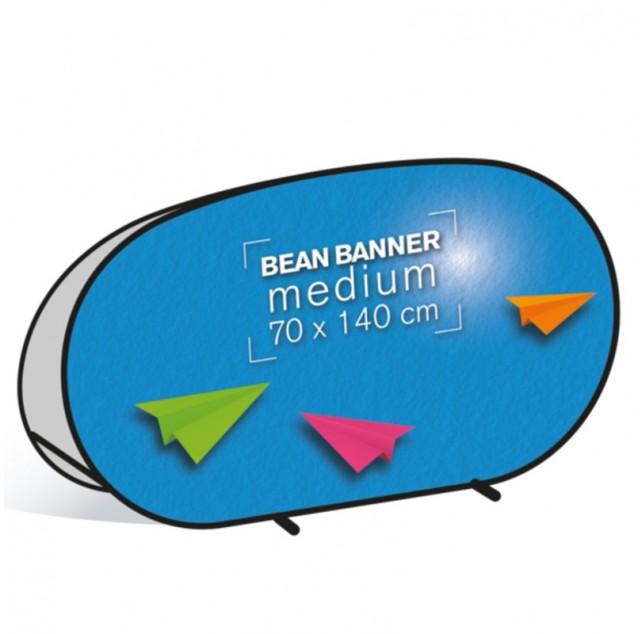 Bean Banner medium 70x140cm