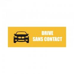 Bâche PVC DRIVE SANS CONTACT