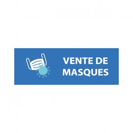 Bâche PVC VENTE DE MASQUES