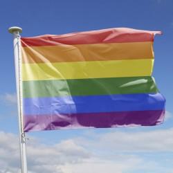 Drapeau Arc-en-Ciel multicolore à hisser