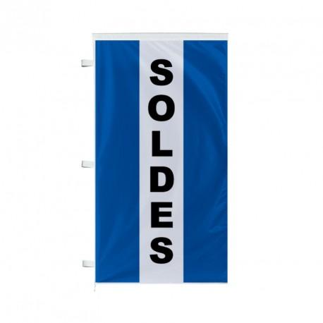 Pavillon SOLDES vertical 220 x 120 cm