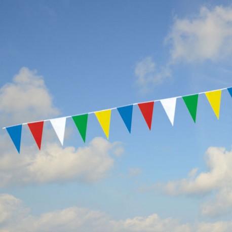 Guirlande fanions triangulaires multicolores PM2