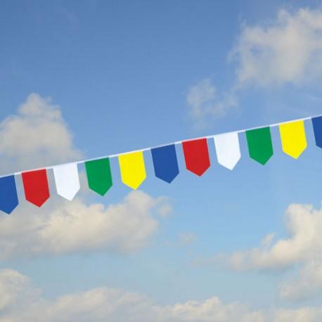 Guirlande fanions écussons multicolores PM3