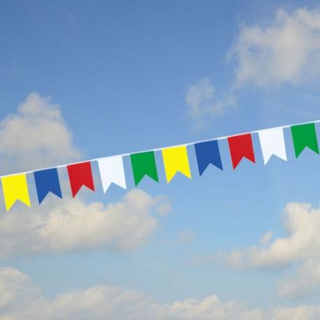 Guirlande fanions queues de pie multicolores PM4