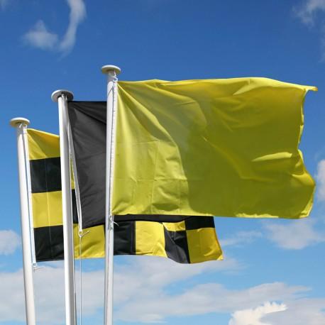 Kit d'avalanche Format 100x150 cm, damier, jaune et noir