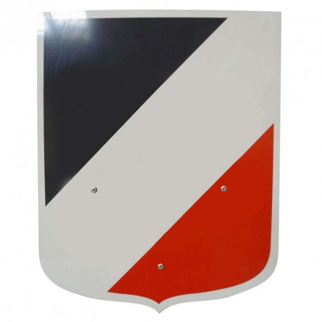 Ecusson tricolore porte drapeaux