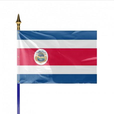 Drapeau pays COSTA RICA
