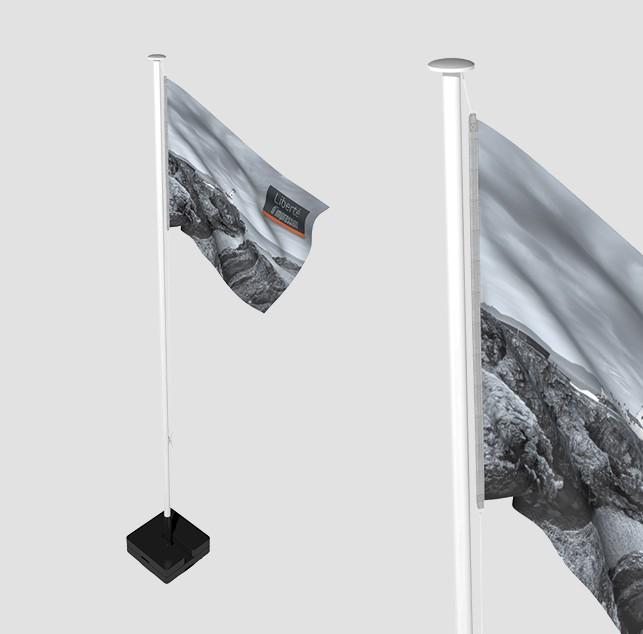 Mât mobile polyéco standard, en fibre de verre