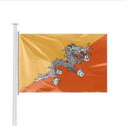 Drapeau pays BHOUTAN