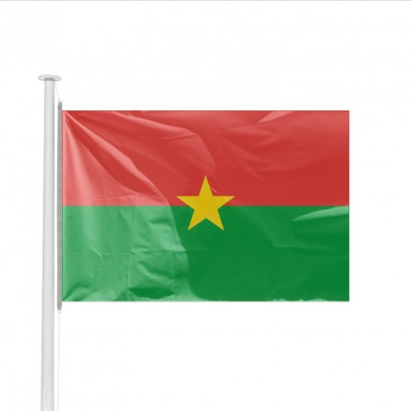 Pavillon pays BURKINA FASO