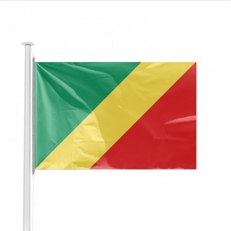 Drapeau pays CONGO (BRAZZAVILLE)