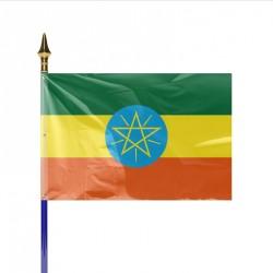 Drapeau pays ETHIOPIE