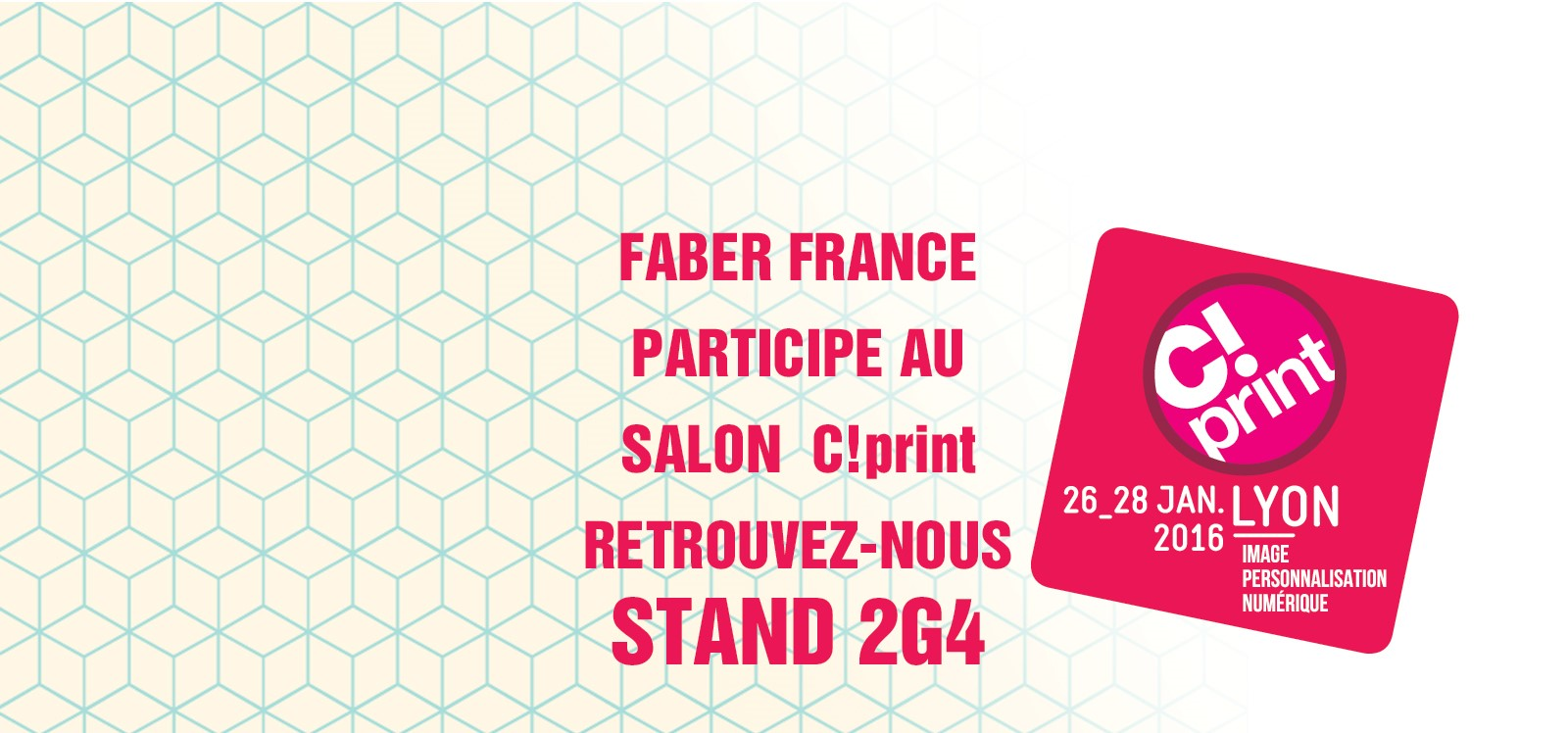 faber france exposant au salon c print faber france