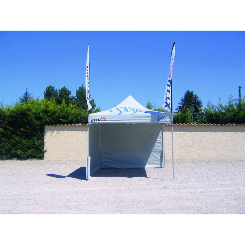 Tente pliante LIGHT 3x3m pour utilisation occasionnelle